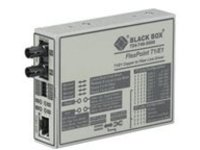 Black Box FlexPoint T1/E1 Copper to Fiber Line Driver - short-haul modem