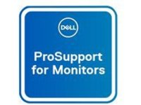 Dell Upgrade from 3Y Basic Advanced Exchange to 5Y ProSupport for monitors - extended service agreement - 5 years...