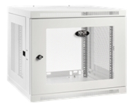 Tripp Lite SmartRack 9U Low-Profile Switch-Depth-Plus Wall-Mount Rack Enclosure Cabinet, White rack enclosure cabinet...