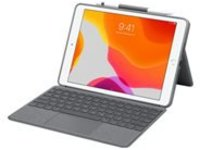 Logitech Combo Touch - keyboard and folio case - with trackpad - graphite