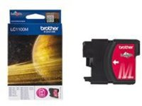 Brother LC1100M - magenta - original - ink cartridge