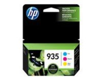 HP 935 Combo Pack - 3-pack - yellow, cyan, magenta - original - ink cartridge