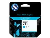 HP 711 - dye-based cyan - original - DesignJet - ink cartridge