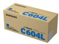 Samsung CLT-C604L - High Yield - cyan - original - toner cartridge (SU081A)