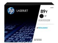 HP 89Y - High Capacity - black - original - LaserJet - toner cartridge (CF289Y)