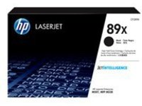 HP 89X - High Capacity - black - original - LaserJet - toner cartridge (CF289X)