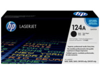 HP 124A - black - original - LaserJet - toner cartridge (Q6000A)