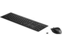 HP Wireless Rechargeable 950MK - keyboard and mouse set - Spanish