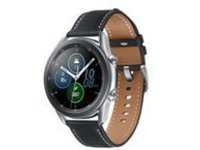 Samsung Galaxy Watch 3 - mystic silver - smart watch with ba
