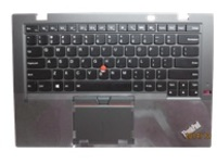 Lite-On - notebook replacement keyboard - with touchpad, Trackpoint, UltraNav - QWERTY - US - with top cover