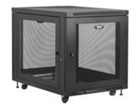 Tripp Lite 12U Rack Enclosure Server Cabinet Doors & Sides 300lb Capacity rack - 12U