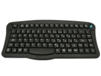 Zebra Small - keyboard - with pointing stick - QWERTY - English