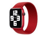 Apple 44mm Braided Solo Loop - (PRODUCT) RED - strap for smart watch