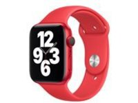 Apple 44mm Sport Band - (PRODUCT) RED - strap for smart watch