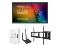 "ViewSonic ViewBoard IFP9850 Device Management Bundle 1 98"" Class (97.5"" viewable) LED display - 4K"