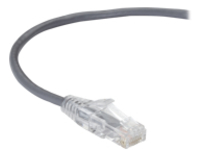 Black Box Slim-Net patch cable - 3 m - gray