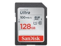 SanDisk Ultra - flash memory card - 128 GB - SDXC UHS-I