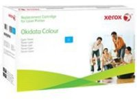 Xerox Oki C8600 - cyan - original - toner cartridge (alternative for: OKI 43487711)