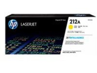 HP 212A - yellow - original - LaserJet - toner cartridge (W2122A)