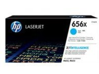 HP 656X - High Yield - cyan - original - LaserJet - toner cartridge (CF461X)