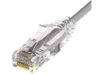 Unirise Clearfit Slim patch cable - 61 cm - gray