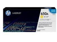 HP 650A - yellow - original - LaserJet - toner cartridge (CE272A)