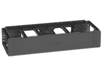 Panduit PatchRunner 2 Single Sided Manager rack cable management panel (horizontal) - 2U