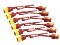APC Power Cord Kit - power cable - IEC 60320 C19 to IEC 60320 C20 - 61 cm