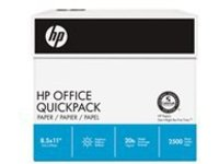 HP Office Quickpack - multipurpose paper - 2500 sheet(s) - Letter - 75 g/m²