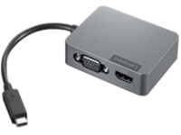 Lenovo Travel Hub Gen2 - docking station - USB-C - VGA, HDMI - 10Mb LAN