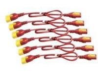 APC power cable kit - IEC 60320 C13 to IEC 60320 C14 - 1.8 m