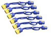 Schneider Electric Color Coded Locking Power Cords - power cable - IEC 60320 C20 to IEC 60320 C19 - 61 cm