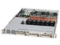 Supermicro SC818 S+-1000 - rack-mountable - 1U