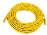 Monoprice FLEXboot Series patch cable - 15.2 m - yellow