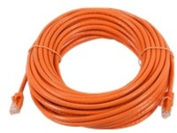 Monoprice FLEXboot Series patch cable - 22.9 m - orange