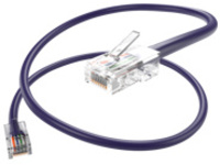 Oncore patch cable - 7.6 m - purple