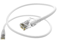 Unirise Clearfit patch cable - 9.1 m - white