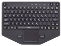 iKey Rugged - keyboard - with touchpad
