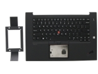 Sunrex - notebook replacement keyboard - with Trackpoint, UltraNav - QWERTY - English - with top cover