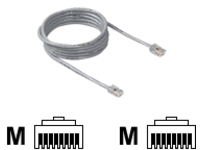Belkin patch cable - 30 cm - gray