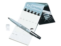 Panduit Self-Laminating, Write-On Self-Adhesive Cable Label Books - labels