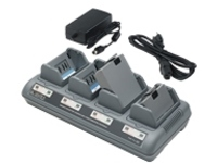 Zebra Quad Charger UCLI72-4 - power adapter + battery charger