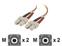 Belkin patch cable - 15 m - orange