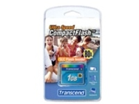 Transcend Ultra Performance - flash memory card - 1 GB - CompactFlash