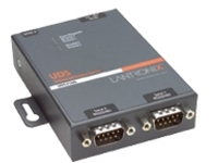 Lantronix Device Server UDS2100 Two Port Serial (RS232/ RS422/ RS485) to IP Ethernet - device server