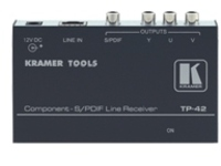 Kramer TOOLS TP-42 Receiver - video/audio extender