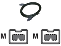 WiebeTech Cable-10 - IEEE 1394 cable - 2 m