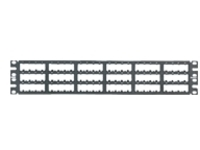 Panduit MINI-COM High Density Modular - patch panel - 2U - 19""