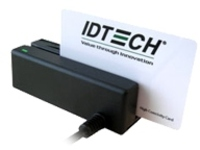 ID TECH MiniMag Intelligent Swipe Reader IDMB-3351 - magnetic card reader - USB