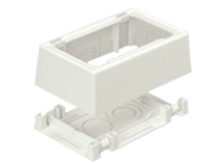 Panduit Pan-Way Fast-Snap Surface Mount Outlet Box - surface mount box